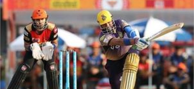 Kolkata Knight Riders beat Sunrisers Hyderabad by 17 runs
