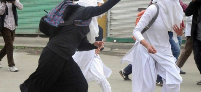 All-Women Battalion To Fight Against The Stone Pelters In Kashmir.