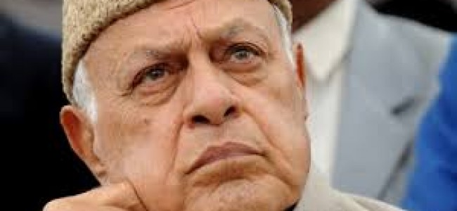 All party conclave on Kashmir being pushed by farooq