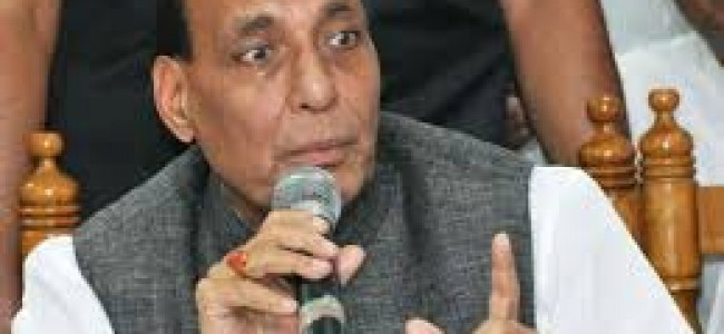 Rajnath rejects presence of IS in valley.