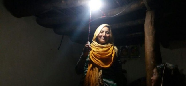 Batambiss village gets electricity ever first time in the history