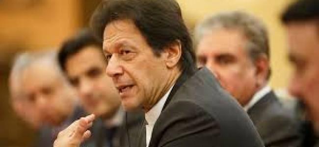 Pak PM Imran Khan calls for National Security Meeting to discuss Kashmir situation