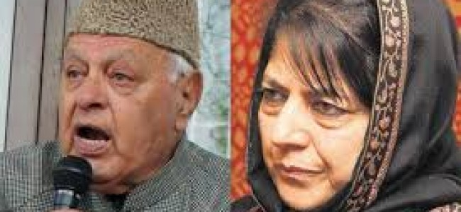 Art 35A rumours: Mehbooba calls Farooq, requests 'all party meet'