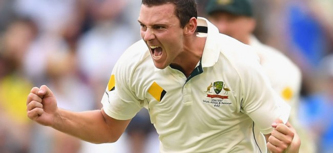 Hazlewood says tight Ashes schedule will force bowling rotation