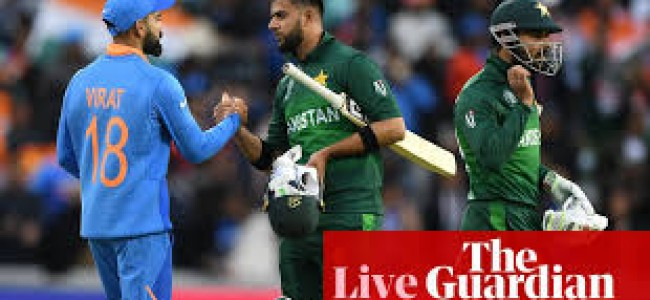 IND VS PAK: Once again India beat Pakistan in world cup, win by 89 runs