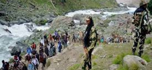 Amarnath Yatra suspended from Jammu due to highway closure