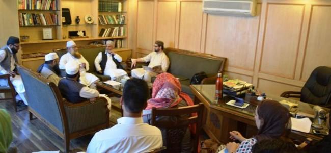 Mutahida Majlisi-e-Ulema holds women's rights, issues awareness programme in Srinagar