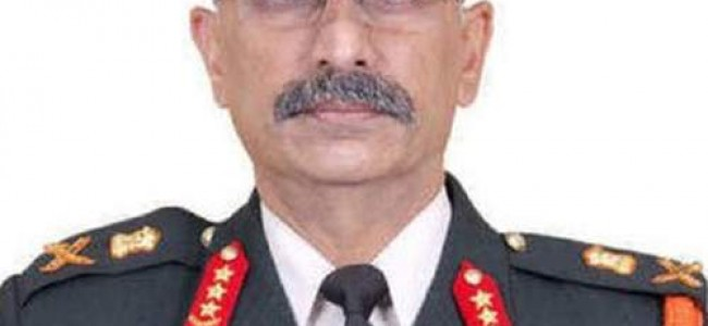 Top-level changes in Army; Lt Gen Manoj Naravane appointed Vice-Chief