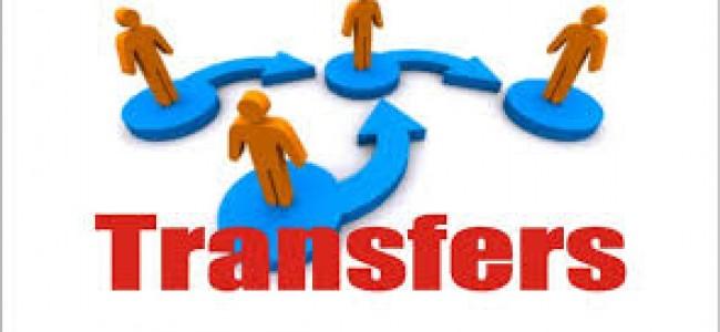 J&K Govt orders transfers, postings in administration