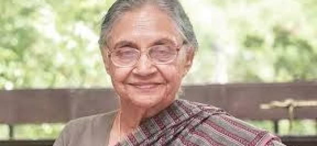 Sheila Dikshit, three-time Delhi CM, passes away