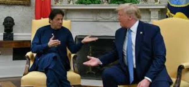 Trump, Khan agree on no military solution to Afghan problem