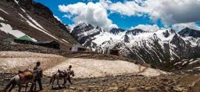 Fresh batch of 1,175  pilgrims leave Jammu for Amarnath