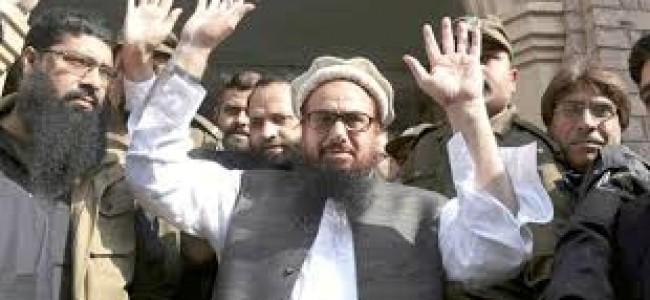 Pak books Hafiz Saeed, 12 others for 'terror financing' through charities