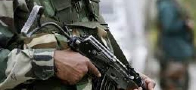 Army soldier injured in accidental fire in Pulwama