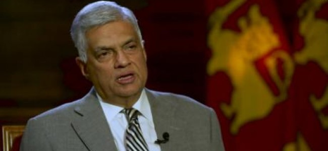 Sri Lanka will introduce new laws to prevent terrorism: Ranil Wickremesinghe