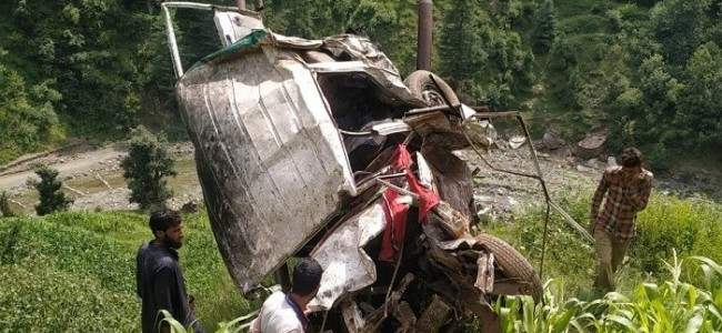 10 Killed, 36 Injured As Bus Falls Into Gorge In Jammu And Kashmir's Rajouri