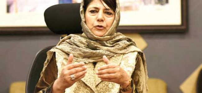 Police notified hoteliers not to allow All Party Meet, alleges Mehbooba