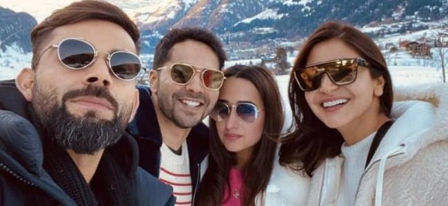 Virat Kohli goes on trek with his mountain ke dosts