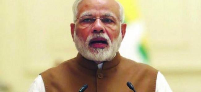 PM Modi tells Congress to protest against Pakistan