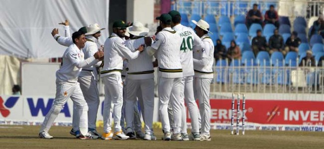 Pakistan defeat Bangladesh by an innings and 44 runs in first Test
