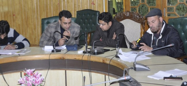 DDC Pulwama for concrete steps to resolve public issues