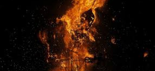 Residential houses gutted in fire at Dalgate.