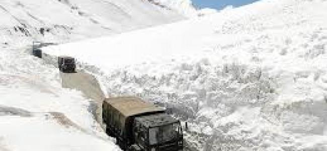 Srinagar-Leh highway to open within couple of days: Authorities.