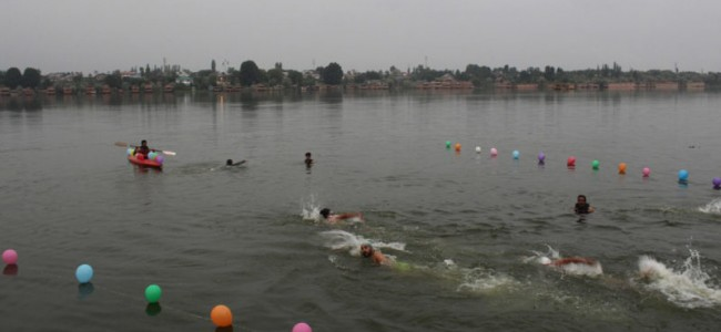 200 swimmers trained at Nigeen Water Sports Centre