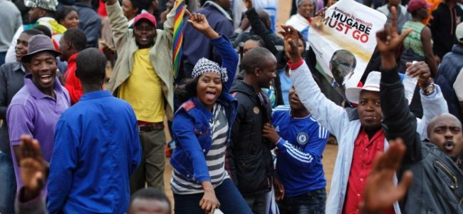 Robert Mugabe: Thousands take to streets of Harare in protest against Zimbabwe President