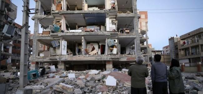 Iran-Iraq quake: 'A sudden wave of death'