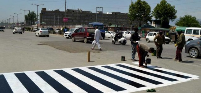 Major 'facelift' exercise underway in Srinagar ahead of Durbar Move