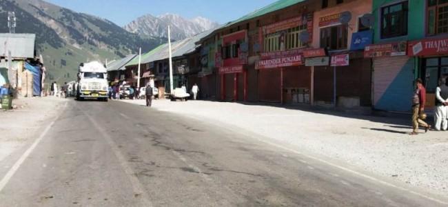 Kashmir shuts on JRL's call against Kulgam militant, civilian killings