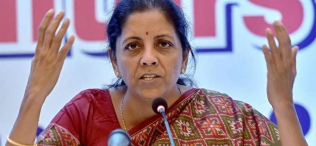 Nirmala Sitharaman to announce details of economic package at 4 pm today