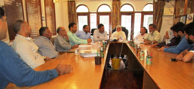KCCI holds meet with director CDI