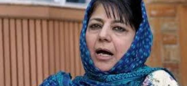 Kashmir turmoil LIVE Updates: Mehbooba Mufti slams Centre, to hold meeting with political leaders at 6 pm