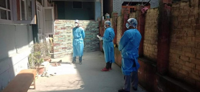 Coronavirus: Medical Teams Scanning Khanyar