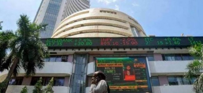 Markets ignore Moody's downgrade, Sensex rises 3,200 pts in 6 sessions