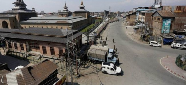 Strict lockdown restrictions re-imposed in parts of Kashmir after spike in COVID-19 cases
