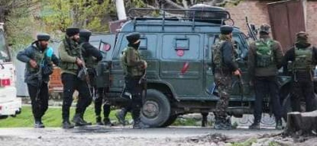 CASO launched in Pulwama still in progress