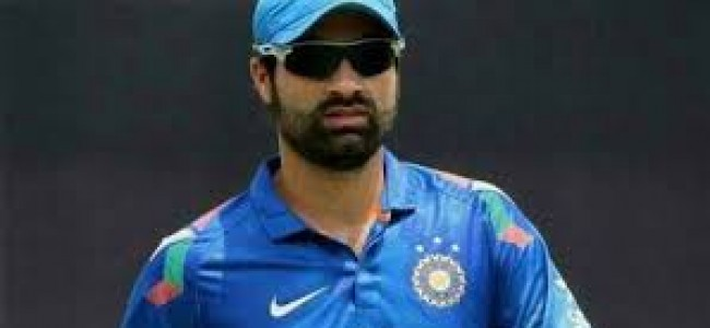 J&K cricketer Parvez Rasool working towards India team comeback