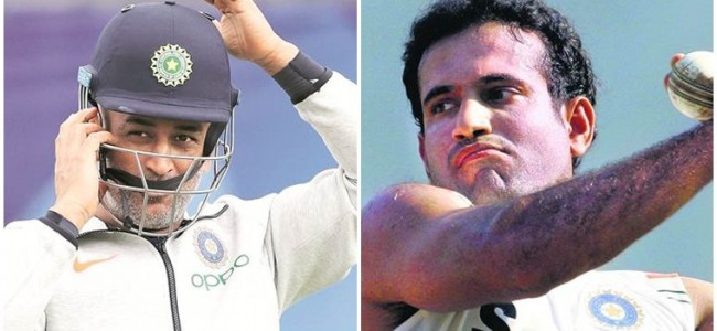 'He does get angry': Irfan Pathan recalls incident when MS Dhoni lost his cool