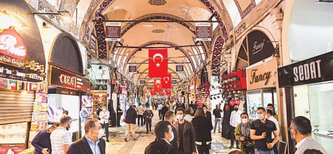 Turkey's Grand Bazaar reopens, along with cafes and restaurants
