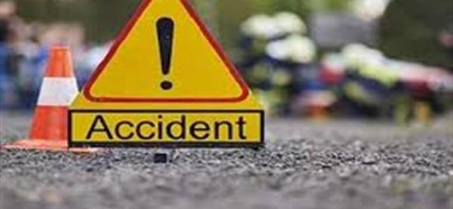 Tanker driver dies on spot in Leh road accident