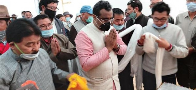 BJP leaders' opinion sought on Ladakh chief