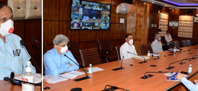 Advisor Bhatnagar chairs COVID-19 review meet
