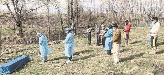 J&K Reports 11 More Covid-19 Deaths, 102 In 3 Weeks; Toll 171