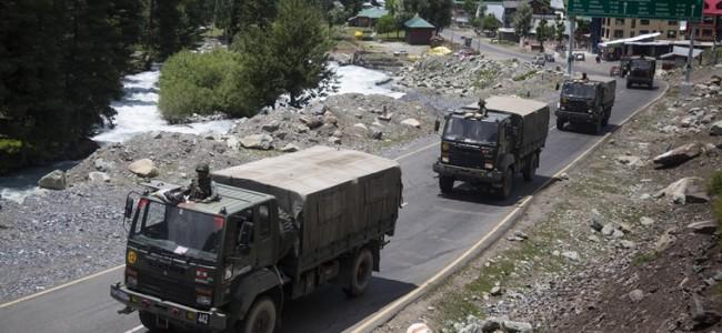 Facing long haul at LAC, Army's big challenge: Logistics