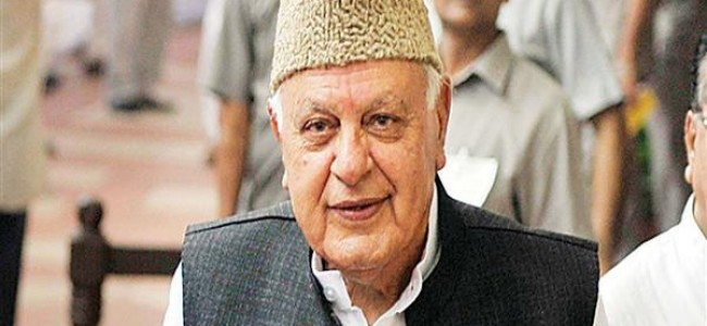 Dr. Farooq Abdullah expresses anguish over losses to property, standing crops by gusty winds