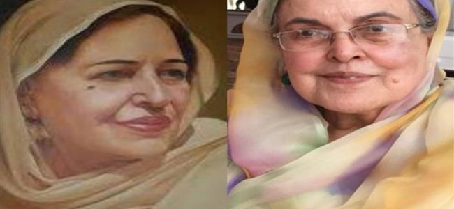 Begum Shere kashmir's role towards Girls education unparalleled in today's world: Khalida Shah