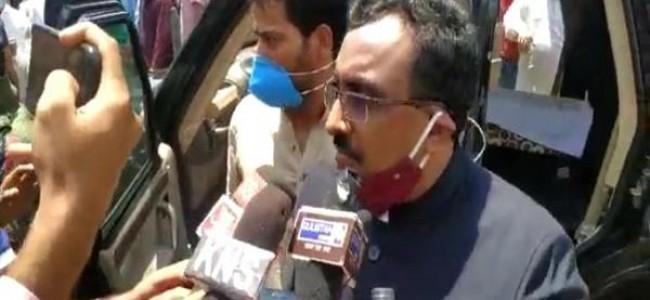 Ram Madhav urges J&K Govt. to neutralize killers of Bari